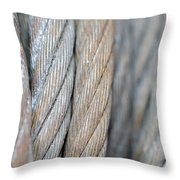 Steel Wire Throw Pillow