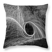 Steel Wool 2 Throw Pillow