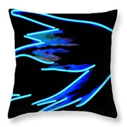 Steelhead Fly Throw Pillow