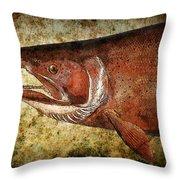 Steelhead Trout Throw Pillow