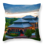 Steeling History Throw Pillow
