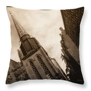 Steeple Chase Throw Pillow