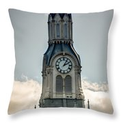 Steeple In Haverhill Ma Throw Pillow