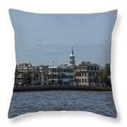 Steeple View Throw Pillow