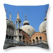 Steeples And Things Throw Pillow