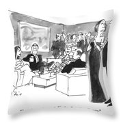 Steer Clear Of That Group.  They're All Terribly Throw Pillow