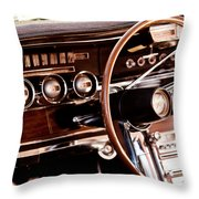 Steer Me Home Throw Pillow