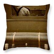 Steerage Throw Pillow