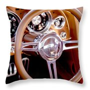 Steering History Throw Pillow