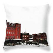 Stegmaeir Brewery - Wilkes Barre Pa Throw Pillow