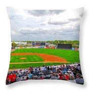 Steinbrenner Field 3 Throw Pillow