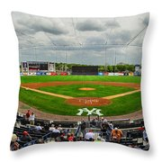 Steinbrenner Field Throw Pillow