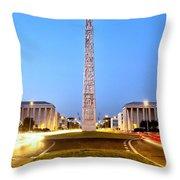 Stele Di Marconi Throw Pillow