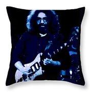 Stella Blue At Winterland 2 Throw Pillow