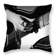 Stella Burns - Guitar Close-up Throw Pillow