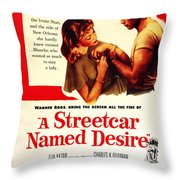 Stellaaaaa - A Streetcar Named Desire Throw Pillow