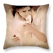 Stellar Couple Dance Throw Pillow