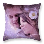 Stellar Couple Throw Pillow