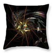 Stellar Spikes Throw Pillow