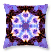 Stellar Spiral Eagle Nebula IIi Throw Pillow