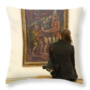 Stendhal Syndrome Throw Pillow