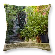 Step Avenue Throw Pillow