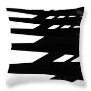 Step By Step Throw Pillow by Newel Hunter