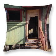 Step Into My Parlor Said The Spider To The Fly Throw Pillow