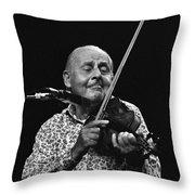 Stephane Grappelli   Throw Pillow