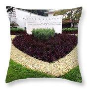 Stephen Circle Gardens 3 Throw Pillow