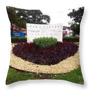 Stephen Circle Gardens 5 Throw Pillow