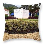 Stephen Circle Gardens 6 Throw Pillow