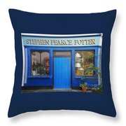 Stephen Pearce Pottery Shanagarry Ireland Throw Pillow