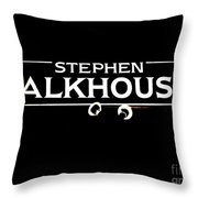 Stephen Talkhouse Throw Pillow