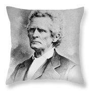 Stephen Trigg Logan (1800-1880) Throw Pillow