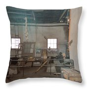 Stepping Back Throw Pillow