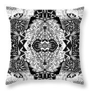 Stepping Into The Unknown - A Sometimes A Mystery Compilation Throw Pillow