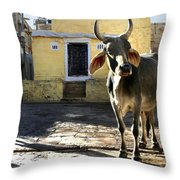 Stepping Out.. Throw Pillow