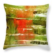 Steps In The Morning Throw Pillow