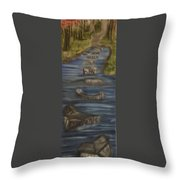 Steps Of Faith Throw Pillow