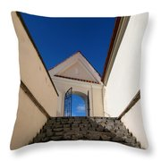 Steps To Heaven Throw Pillow