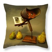Stereo Pairs Throw Pillow