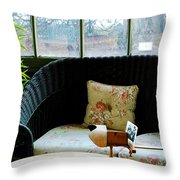 Stereopticon Throw Pillow