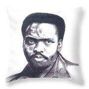 Steve Biko 02 Throw Pillow