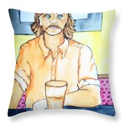 Steve Gross Throw Pillow