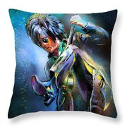 Steve Stevens Throw Pillow