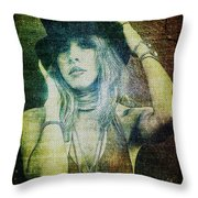 Stevie Nicks - Bohemian Throw Pillow