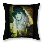 Stevie Nicks - Bohemian Throw Pillow