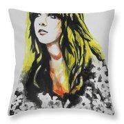 Stevie Nicks 02 Throw Pillow