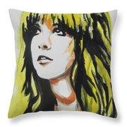 Stevie Nicks 01 Throw Pillow